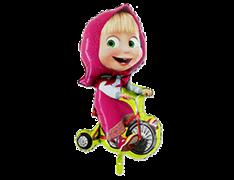 Машанавелосипеде