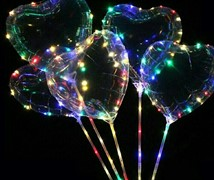 Шар светящийся LED BOBO Сердце