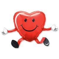 Ходячий воздушный шар Сердце