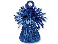 Грузик для шара Конус синий 170 гр