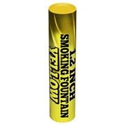 Цветной дым желтый 60 сек. h -170 мм