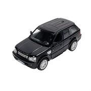 Машинка Инерционная Land Rover Range Rover Sport, Черная