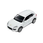 Машинка Инерционная Porsche Cayenne Turbo, Белая