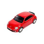 Машинка Инерционная Volkswagen New Beetle (2012), Красная