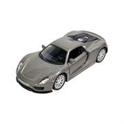 Машинка Инерционная Porsche 918 Spyder, Серебро