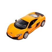 Машинка Инерционная McLaren 650S, Оранжевая
