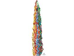 Подвеска-серпантин для шара радужная 86 см - фото 7654