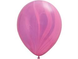 Шар Супер Агат Pink Violet - фото 7887