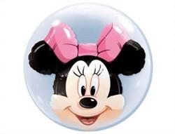 "Шар Bubble Инсайдер ""Disney Минни маус"" - фото 7928"