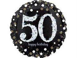 А 18 HB Sparkling Birthday 50 gold S55 - фото 8060
