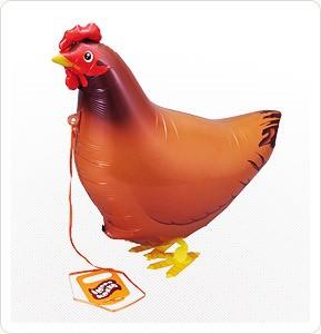 Ходячий воздушный шар Курица - фото 8445