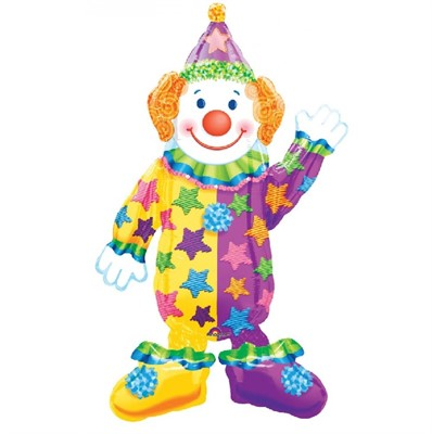 Ходячий воздушный шар Клоун - фото 8449