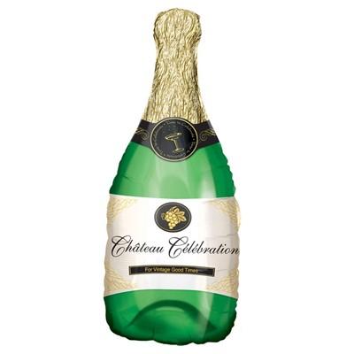 "Шар фигура ""Бутылка шампанского"" - фото 8452"