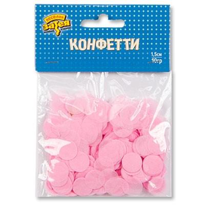 """Конфетти """"Круги Розовые"""" - фото 8550"""