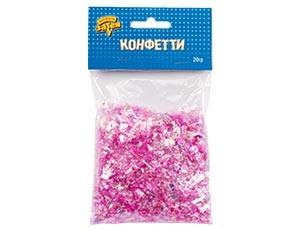 Конфетти Микс перламутр розовый 20 гр - фото 8593