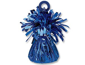Грузик для шара Конус синий 170 гр - фото 8602