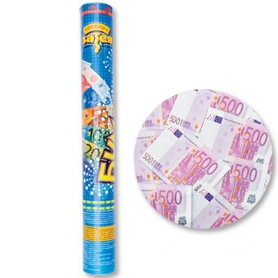 Хлопушка Бумфети 40 см Денежный Дождь Евро - фото 8625