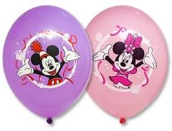 Шар с рисунком Disney Микки Маус 3 цвета - фото 8727