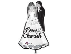 """Шар фигура """"Жених и невеста"""" - фото 8781"""