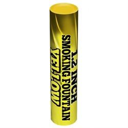 Цветной дым желтый 60 сек. h -170 мм - фото 8894