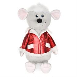 Мышонок Виталик в Красной Куртке, 28 см - фото 8913