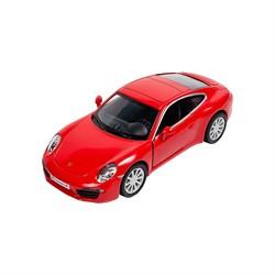 Машинка Инерционная Porsche 911 Carrera S, Красная - фото 9051