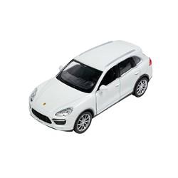 Машинка Инерционная Porsche Cayenne Turbo, Белая - фото 9056
