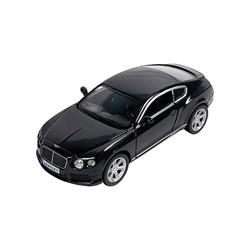 Машинка Инерционная Bentley Continental GT V8, Черная - фото 9061
