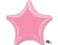 Шар ЗВЕЗДА Металлик Pink