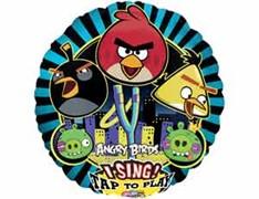 Воздушный музыкальный шар Angry Birds