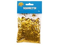 Конфетти Микс фольга Золото 20 гр