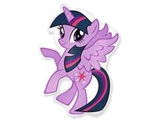 Мини шар Пони фиолетовый