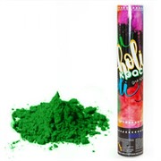 Пневмохлопушка Краска Холи, Зеленый