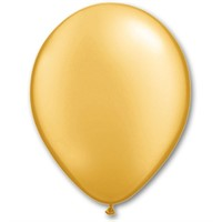 "Шар Q 11"" Металлик Gold"