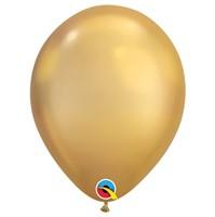"Шар Q 11"" Хром Gold Maxi"