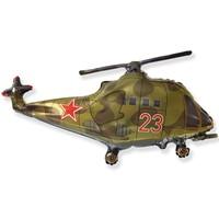 Шар Ф ФИГУРА/11 Вертолет зеленый/FM