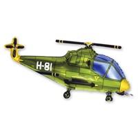 Шар мини Ф М/ФИГУРА/3 Вертолет зеленый/FM